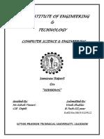 seminar report on kerberos.docx