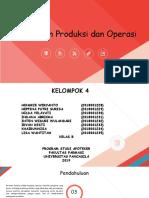 Ppt Manajemen Produksi Dan Operasi