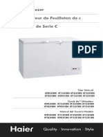 Manual refrigerador haier