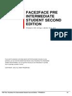 ID70101b094-face2face pre intermediate student second edition