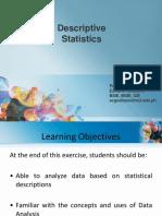 Module 1 - Descriptive Statistics