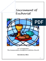 the sacrament of eucharist