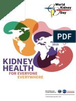 World Kidney Day 2019 Leaflet