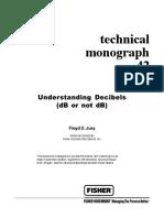 Fisher - Techincal Monograph 42 - Understanding Decibels Copy