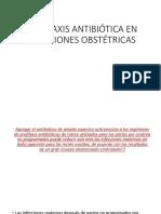 Profilaxis Antibiótica en Infecciones Obstétricas