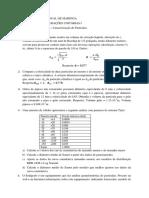 Exercícios Caracterização de Particulas