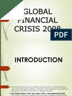 Global Finacial Crisis