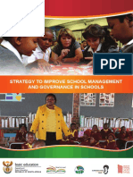 Strategy to Improve School Management and Governance in Schools (1)