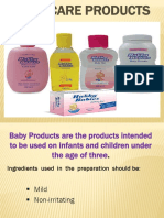 BABY CARE PRODUCTS.pptx