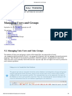 (Kali.training) Managing Users and Groups