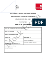 Cocs40683 - Fundamentals of Computer Networks-1-1- Pratical Test -Mock