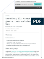 Learn Linux, 101_ Manage User and Group Accounts and Related System Files – IBM Developer