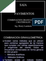 combinacion granulometrica de agregados