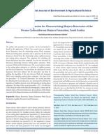 Work Fractal Dimension for Characterizing Shajara Reservoirs of The Permo-Carboniferous Shajara Formation, Saudi Arabia
