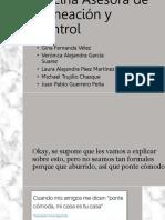 Oficina Asesora de Planeación y Control Finalizada