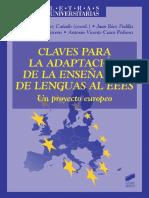 Claves para la adaptación de la enseñanza de lenguas al EEES - María Luisa Pérez Cañado.pdf