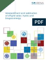 IRENA Statistics Measuring Offgrid Energy 2018
