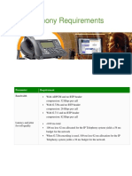 IP Telephony Requirements