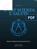 Pillole di Sport Scienza e Salute