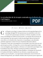ARTICULO La revolución de la terapia centrada en el cliente de Carl Rogers-2017