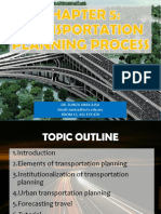 Chapter 5 - Transportation Planning Process