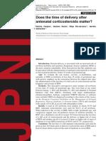 Antenatal Corticosteroids