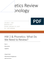 Week 3 - PPT - Phonetics Review & Phonology (A09)