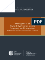 Clinical Guideline Management of Thyroid Dysfunction During Pregnancy Postpartum