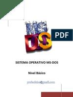 Manual básico de MS-DOS