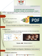 Suplementos antioxidantes e Exercício de Endurance.pptx