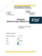 ROADAPT Case Study A24 Portugal Quickscan Report