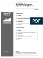 ANSI-SPRI - RP-14 - Winde Design Standard for Vegetative Roofing Systems