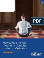 How to Be a Mindful Muslim