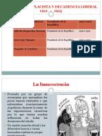 Breve Historia de La Historia Contemporanea de Ecuador