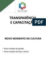 Transparência e Capacitação