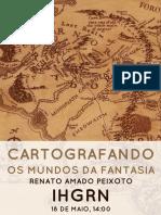 Cartografando Os Mundos de Fantasia - IHGRN