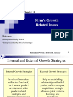 Firm_s Growth Related Issues