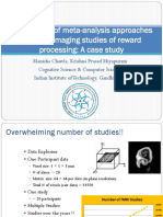Comparision of meta analysis approaches for neuroimaging studies of reward processing