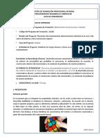 GUÍA de APRENDIZAJE Propiedades Textuales (3)