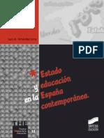 Estado y educación en la España contemporánea - Juan M. Fernández Soria.pdf