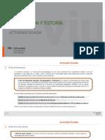 ORIENTACIÓN Y TUTORÍA - AG1 & AG2