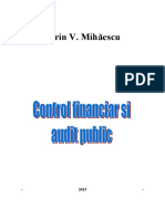 Control Financiar Si Audit Public 2015