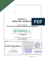 01proyecto Anexo 4 Memoria Ambiental Para Proyecto 0