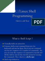 Linux Shell Pg Mg