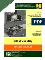 Bill of Quantity 2