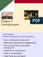 CH 4 Unemployment
