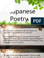 Japanese Poetry.