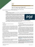Splenic Hydatid Cyst Open or Laparoscopic Approach 10 1584 9341-14-1 6
