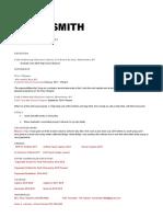 tyler smith resume 2018
