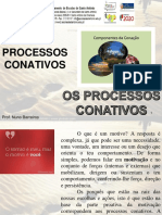 4.1- Os Processos Conativos (1)